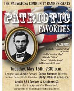 Patriotic Favorites Poster of Lincoln