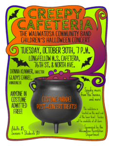 Children's Halloween Concert flyer